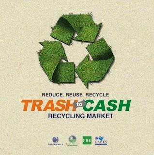 TRASH TO CASH Recycling Market, SM City Marikina, SM Marikina
