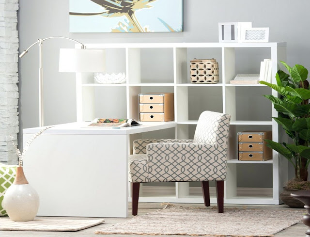best buy white fitted home office furniture UK for sale