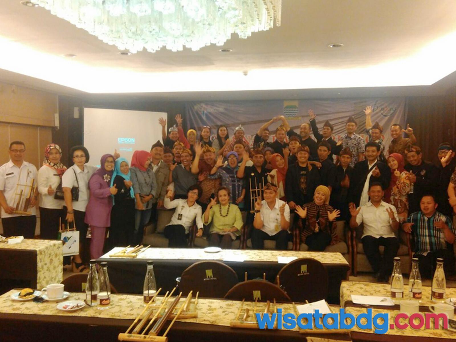 Seminar dan Workshop Disbudpar Bandung di Hotel Mitra 29-30 Agustus 2016
