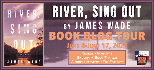 River, Sing Out book blog tour promotion banner