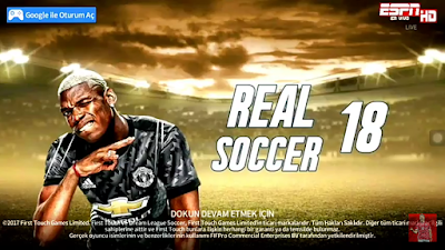 DLS Mod Real Soccer 2018