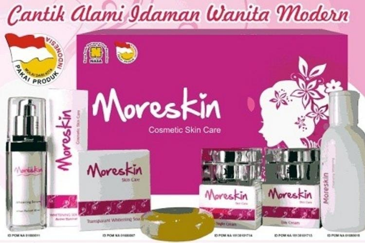 Moreskin Cosmetic Skin Care – Day & Night Cream, Serum, Toner dan Sabun More Skin