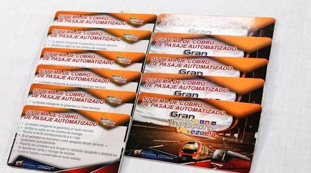 Metro de Caracas comenzará la venta de tarjetas  para el pago del pasaje.