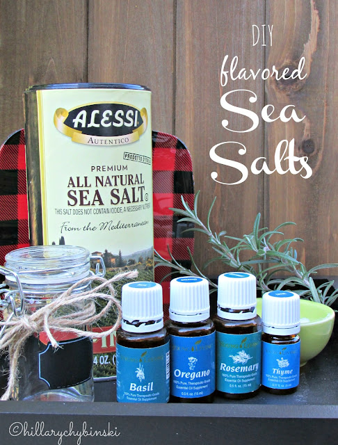DIY Flavored Sea Salts With Essential Oils