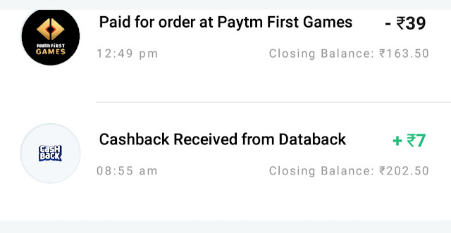 Cashback ! 7 ruppes instant add money in Paytm just in 2 minutes