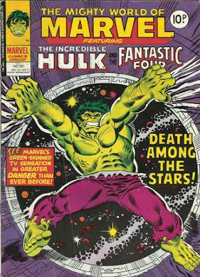 Mighty World of Marvel #321, the Hulk