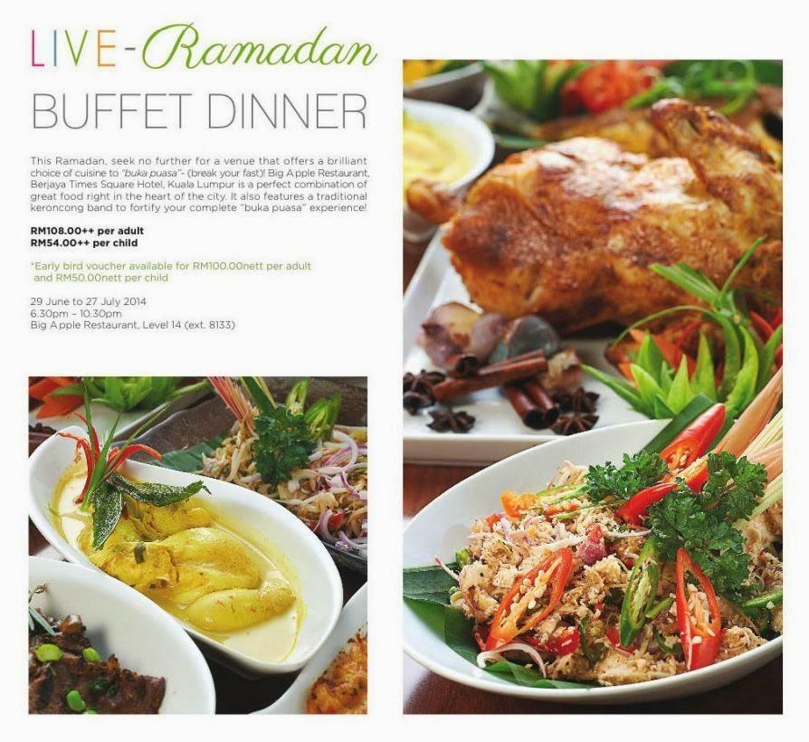 Excellent Live Ramadhan Buffet Dinner At Big Apple Restaurant Interior Design Ideas Ghosoteloinfo
