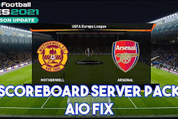 New Scoreboard Server Pack FIX - PES 2021