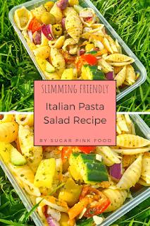 Italian pasta salad recipe low syn slimming world