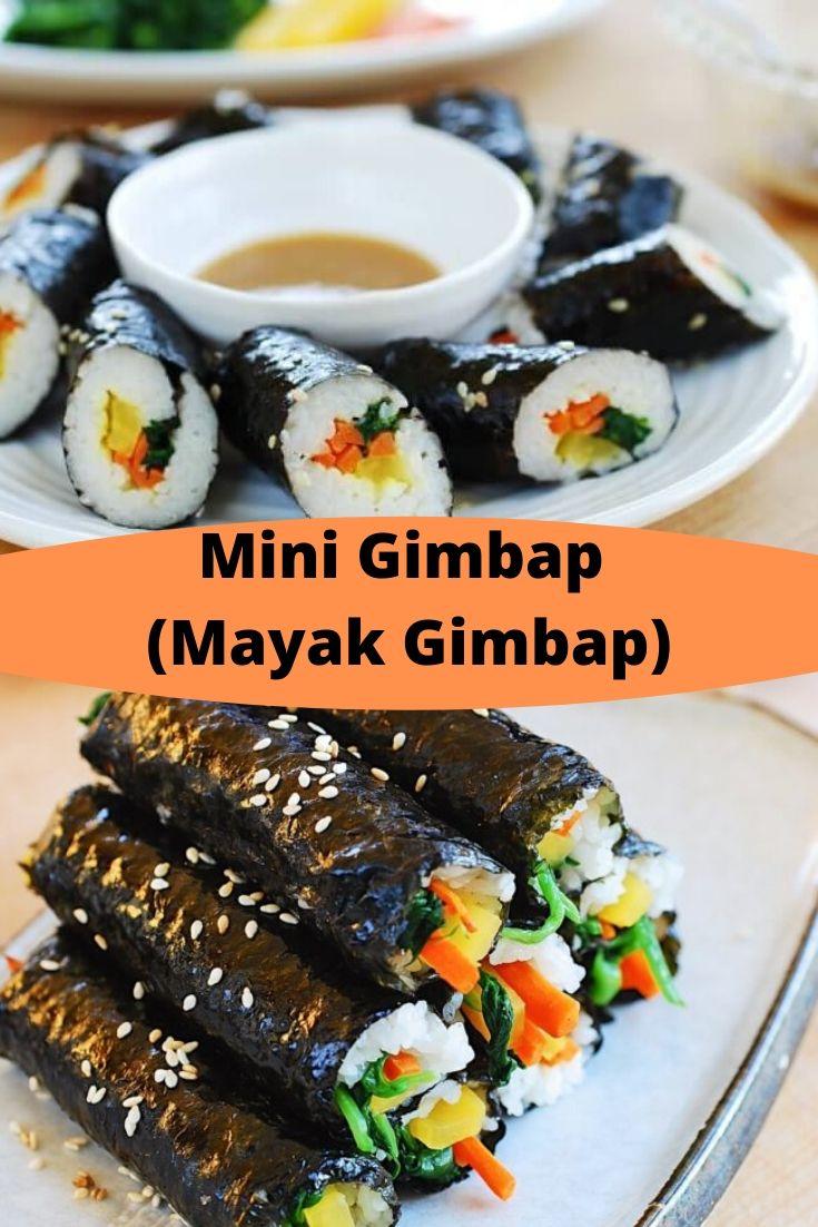 Mini Gimbap (Mayak Gimbap)