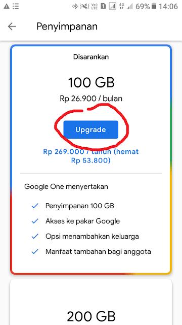 Cara Beli Penyimpanan Google Drive4