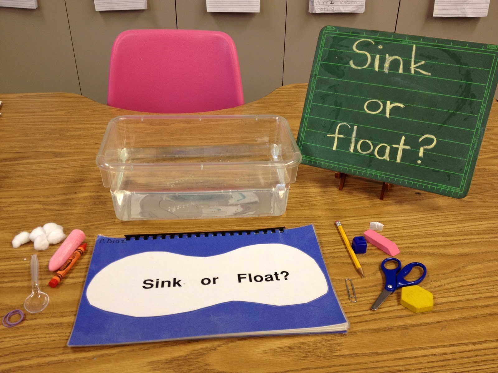 Sink Or Float Apples And Abc39s