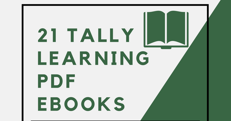 Tally Learning Pdf File