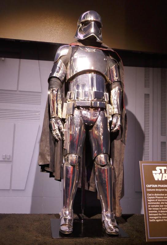 Gwendoline Christie Star Wars Captain Phasma costume