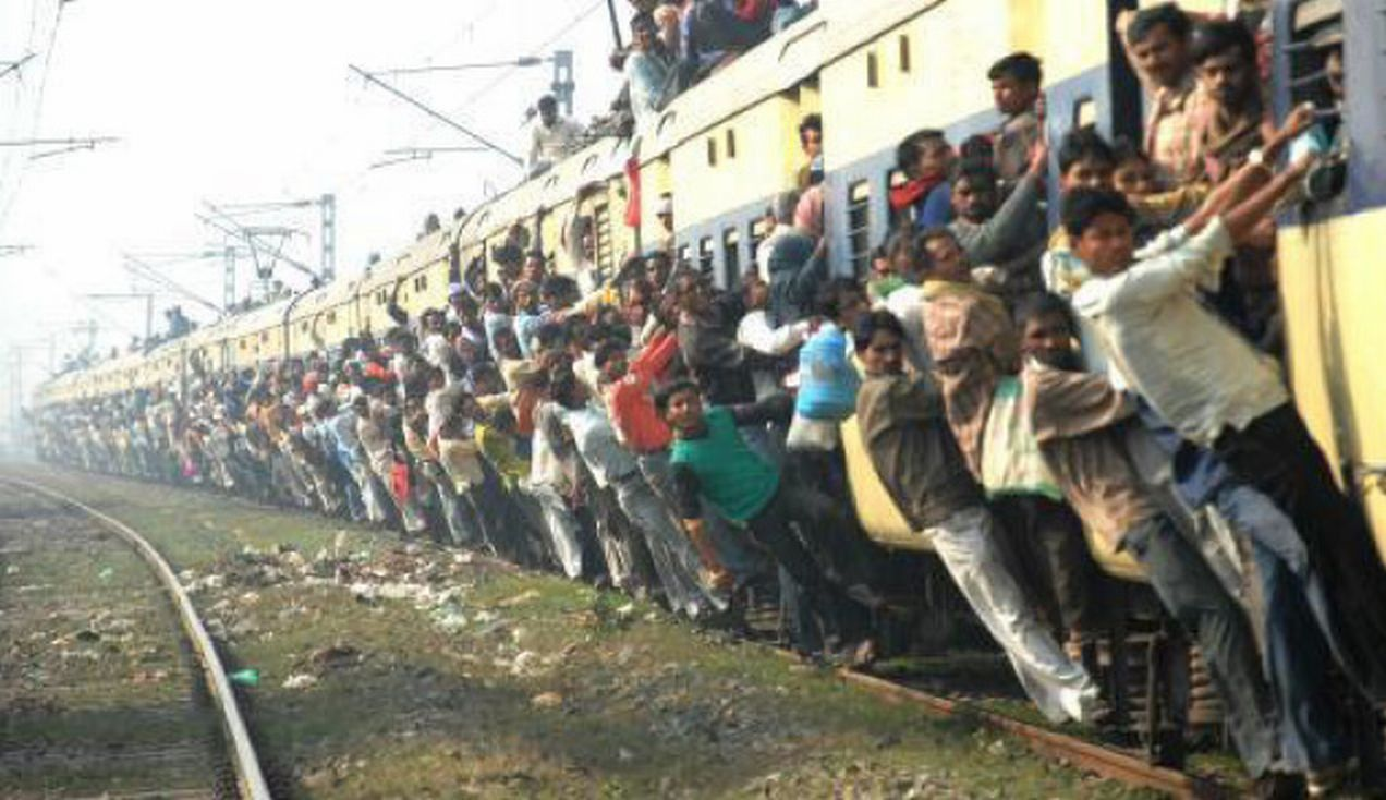 Indian railway system should be aware of cleanliness