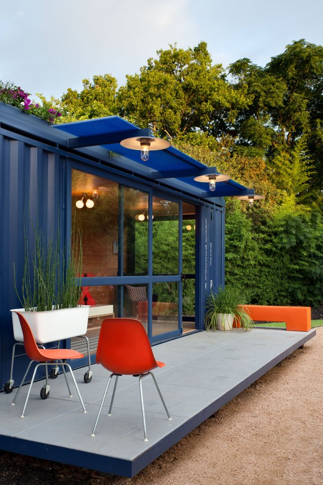 Shipping Container Homes Amp Buildings Green Roof Container