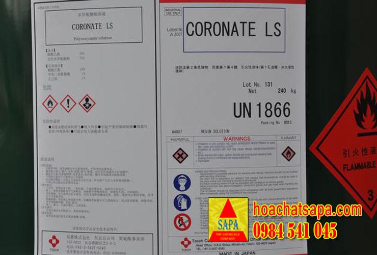 Coronate LS - Polyisocyanate - cứng PU trong nhà