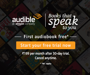 Amazon .in Audible Trial