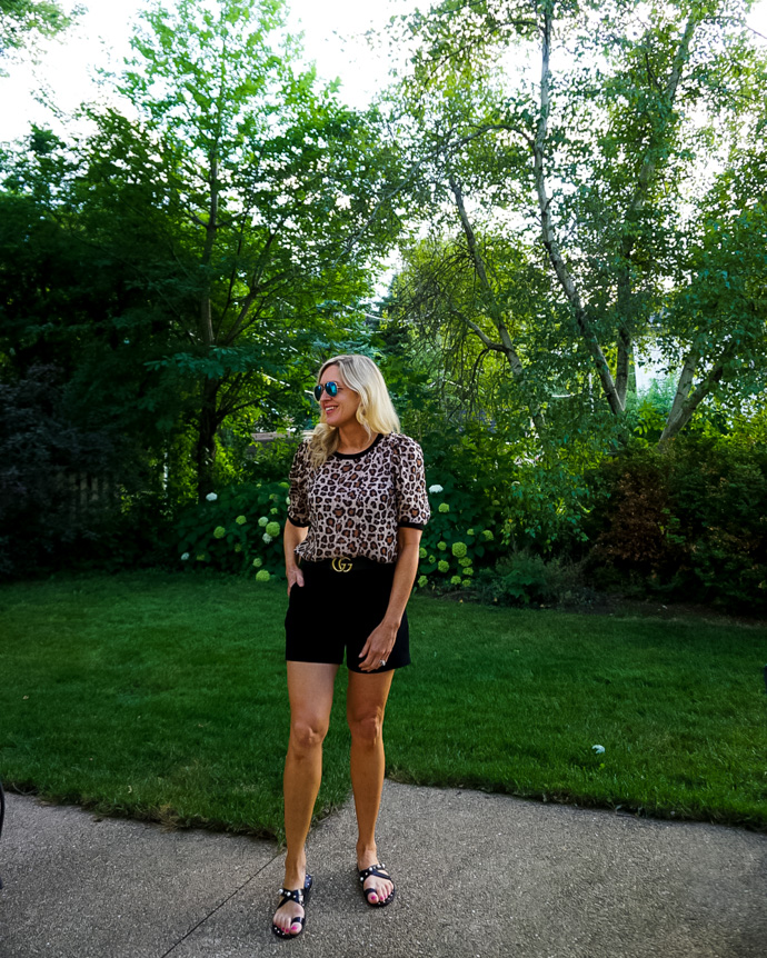 Leopard Print Summer Outfit