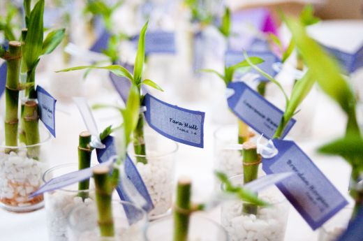 Bamboo Wedding Favors