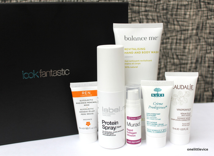 one little vice beauty blog: affordable beauty box from LookFantastic