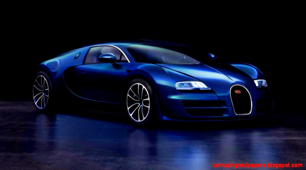 Blue Bugatti Veyron Super Sport Wallpaper: Bugatti Veyron Super Sport White And Blue