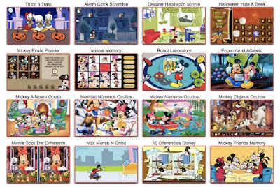 Nuevos juegos de Mickey Mouse y sus amigos