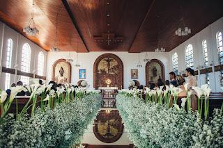 casamento real, igreja são judas, decoração branca