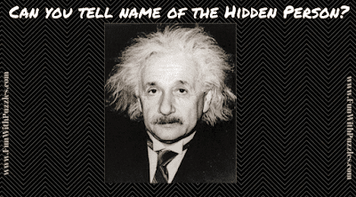 Answer of Hidden Face Picture Puzzle | Physics Scientist