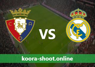 بث مباشر مباراة ريال مدريد وأوساسونا اليوم بتاريخ 01/05/2021 الدوري الاسباني