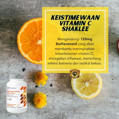 kebaikan Vitamin C Shaklee