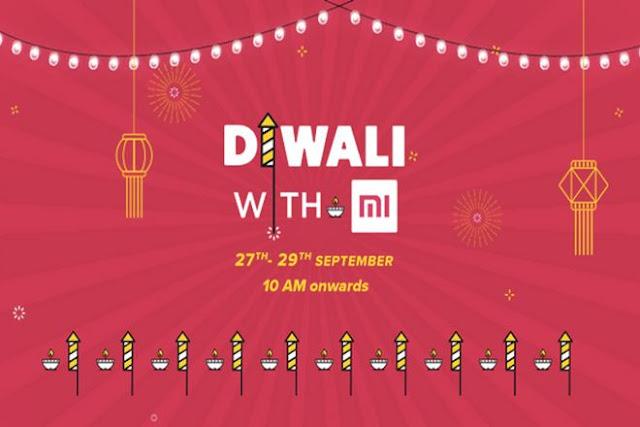 Redmi Diwali sale – 'DIWALI WITH Mi'