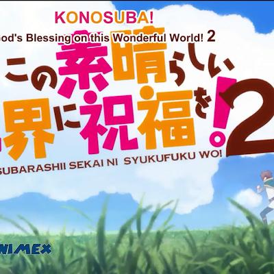 Kono Subarashii Sekai ni Shukufuku wo! Temporada 2 Audio Latino 11/11+Ova MEGA y MediaFire