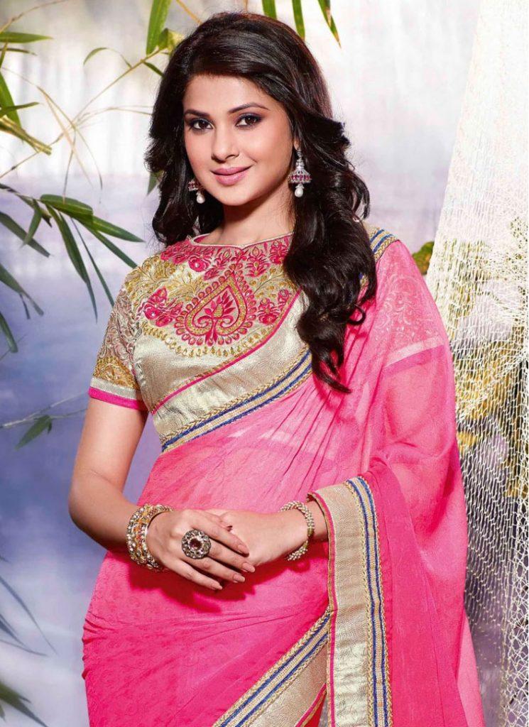 Jennifer Winget Latest Images In Saree - Actress Doodles