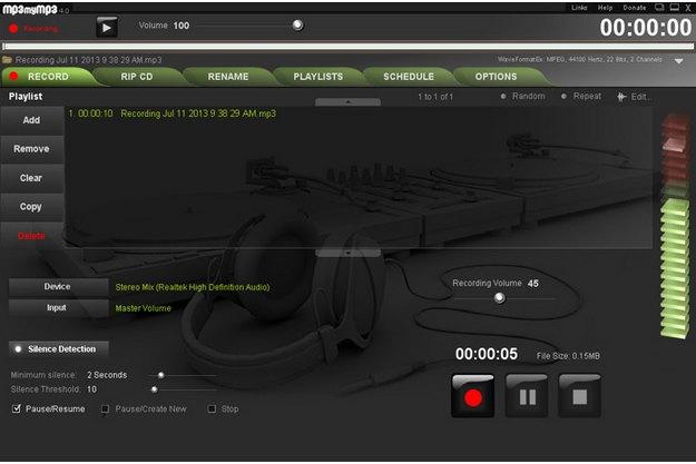 δωρεάν εφαρμογή καταγραφής ήχων από τον υπολογιστή