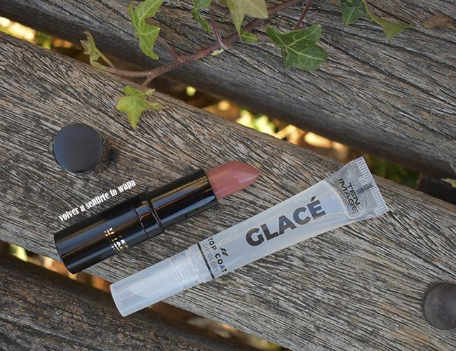 Supreme Lipstick tono 921 y Glacé Top Coat Lipgloss de Ten Image