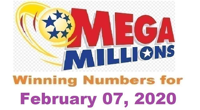 Mega Millions Winning Numbers for Friday, February 07, 2020
