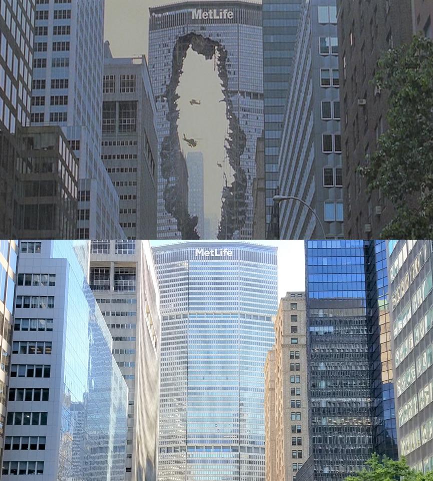 Then & Now Movie Locations: Godzilla (1998