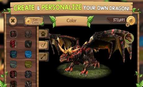 Game Simulasi Naga Android Dragon Sim Online MOD APK