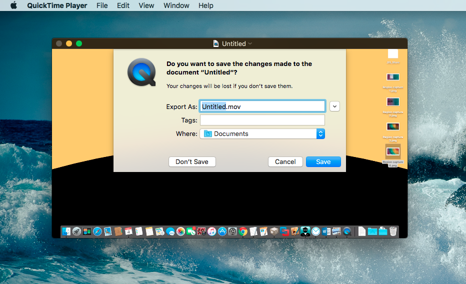 How to record your screen for free in Mac OS X, using ...