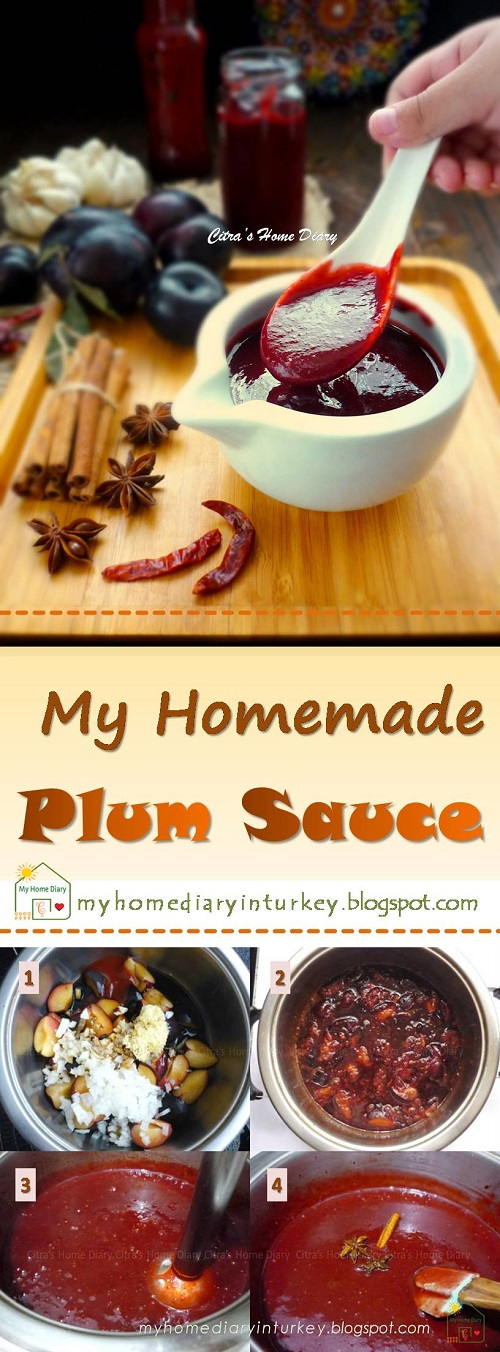 My Homemade Plum sauce / Saus Buah Prem