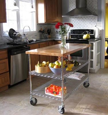 помощна кухненска маса