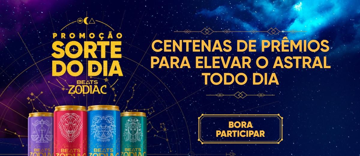 Promoção Sorte do Dia Beats Zodiac 2021