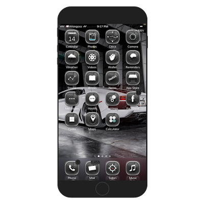 Allegro Essenza is a highly detailed glyph based icon theme which receives over 240 icons, settings icon, control center, status bar, UI sounds, badges, anemone effects and amazing glass effect