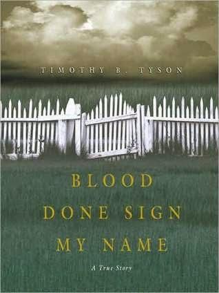 Caroline Bookbinder: Book Review: Blood Done Sign My Name: A True