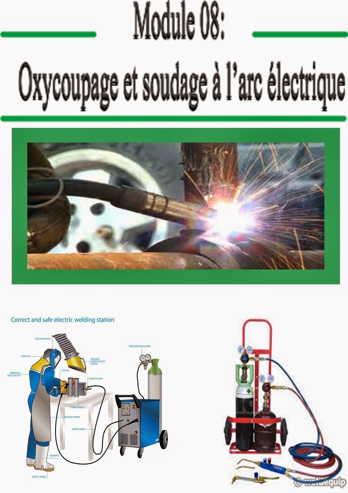 Oxycoupage et soudage à l'arc électrique