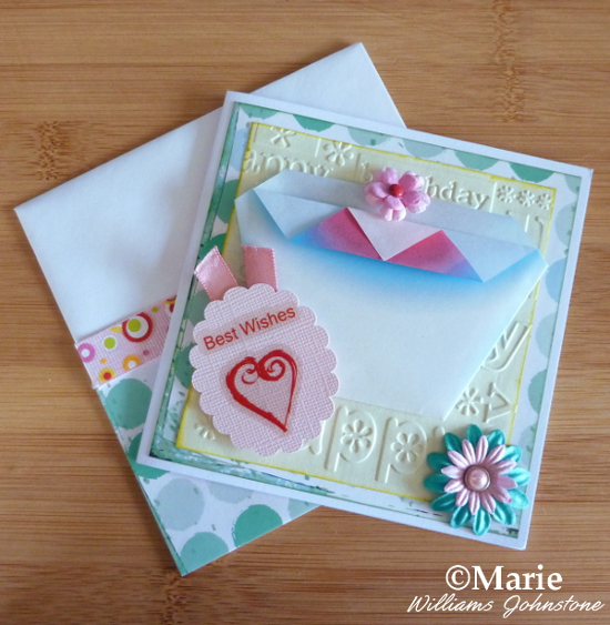 Cupcake origami handmade greeting card design birthday cards DIY pink