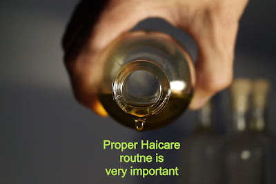 Haircare Routine is necesssary for haircare of Curly Hair Style for man
