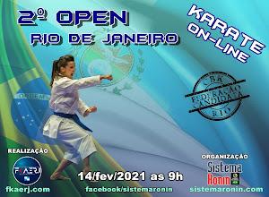 2º Open Rio de Janeiro de Karate On-Line