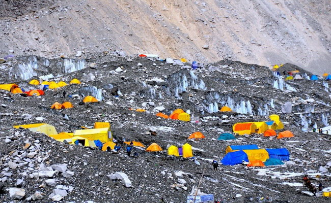 www.xvlor.com Gorak Shep is the last stop to Everest South Base Camp and Kala Patthar
